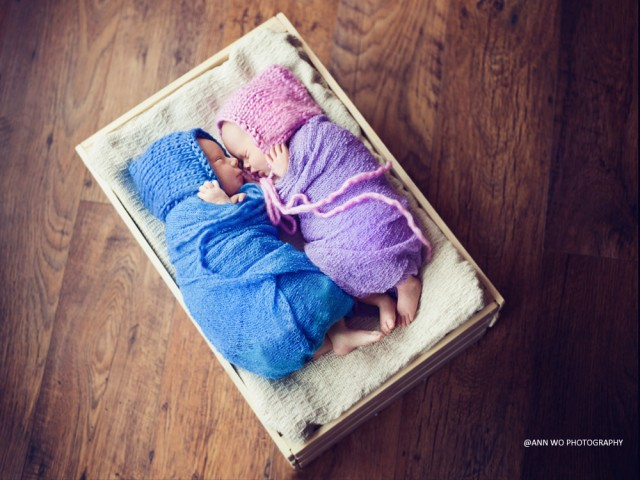 Newborn baby photographer - Ann Wo