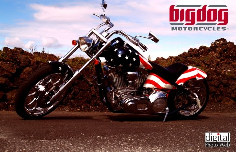 Bigdog Motorcycle Wallpaper