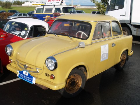 Collector Cars - An old Trabant.