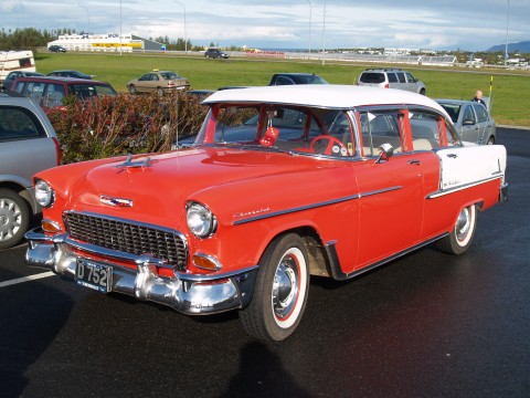 Collector Cars - Chevrolet fifty five.