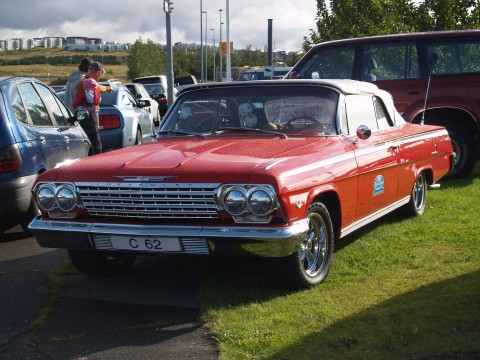 Collector Cars - A slightly younger Chevy with a softtop