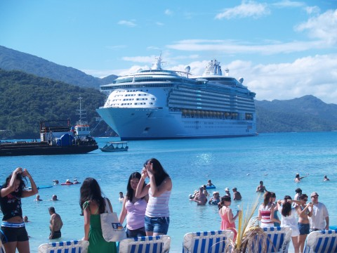 Freedom of the Seas in Labadee Haiti