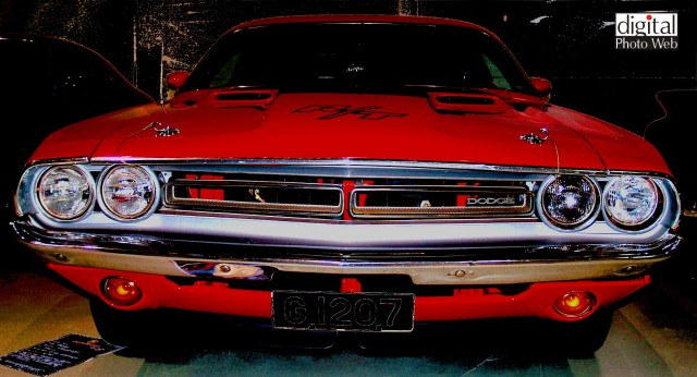 Dodge hotrod muscle car wallpaper.