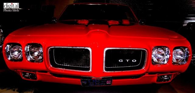 Plymouth GTO muscle car wallpaper.