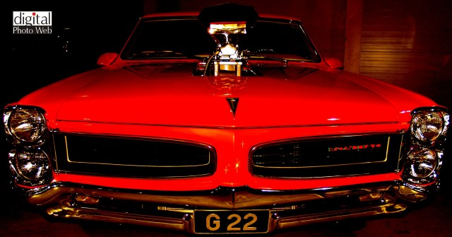 Pontiac Hotrod Muscle Car Wallpaper