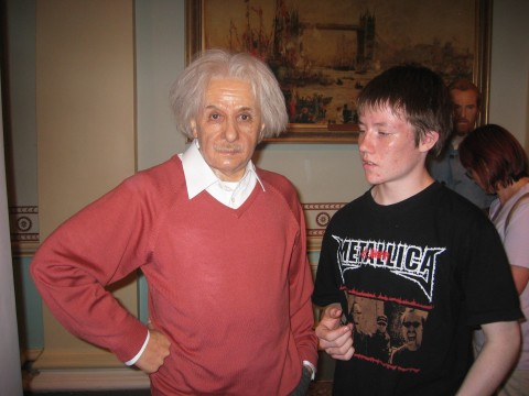 Albert Einstein with tomorrow's thoughleader