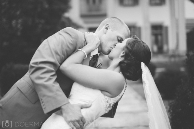 black-and-white-wedding-dip-photo